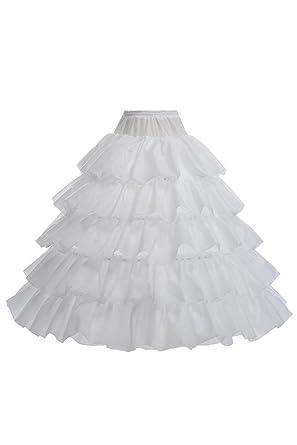 Floor Length Black Petticoat