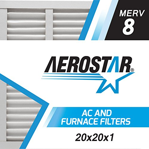 Aerostar 20x20x1 MERV Pleated Filter product image