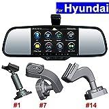 SZSS-CAR Car Rear View Mirror DVR GPS Navi for Hyundai IX25 IX35 IX45 StantaFe Elantra Verna Sonata Sorento Sportage Android Auto Monitor