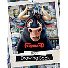 Ferdinand: Blank Drawing Book: White Paper for Drawing, Sketching, Large Size (8.5 x 11) inches, 60 Pages