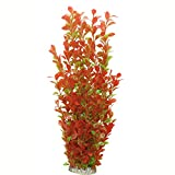 Lantian Aquarium Decor Plastic Plant Large 18 Inches