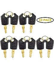 Keys for CAT Caterpillar Heavy Equipment 10 Pack