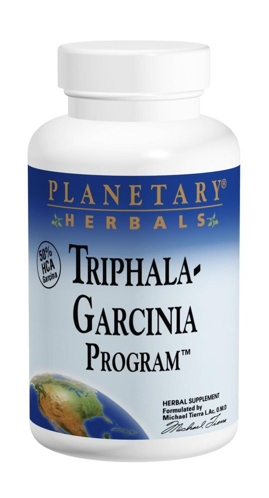 Planetary Herbals Triphala-Garcinia Program, Cleaning Nutritional Support for Those on a Diet