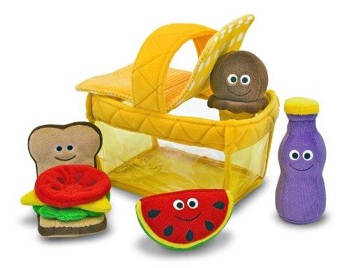 Melissa & Doug - Cesta de picnic para llenar y vaciar (13048): Amazon.es: Juguetes y juegos