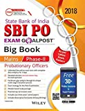 Wiley's State Bank of India Probationary Officers (SBI PO) Exam Goalpost Big Book Mains Phase - II 2018