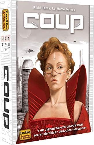 COUP - Juguete (Indie Boards & Cards IBCCOU1) (versión en inglés): Amazon.es: Juguetes y juegos