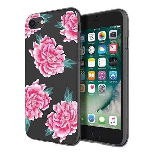 Incipio Design Series Glam Case foriPhone 7, also fits iPhone 6 & iPhone 6s - Fleur (Fleur De Rose)