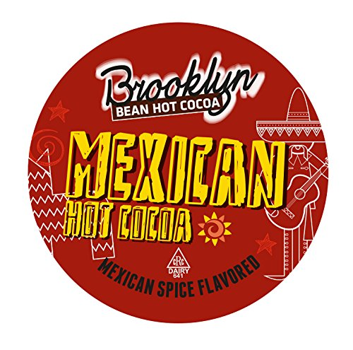 Brooklyn Bean Roastery Mexican Single-Cup Hot Cocoa for Keurig K-Cup Brewers, 40 Count