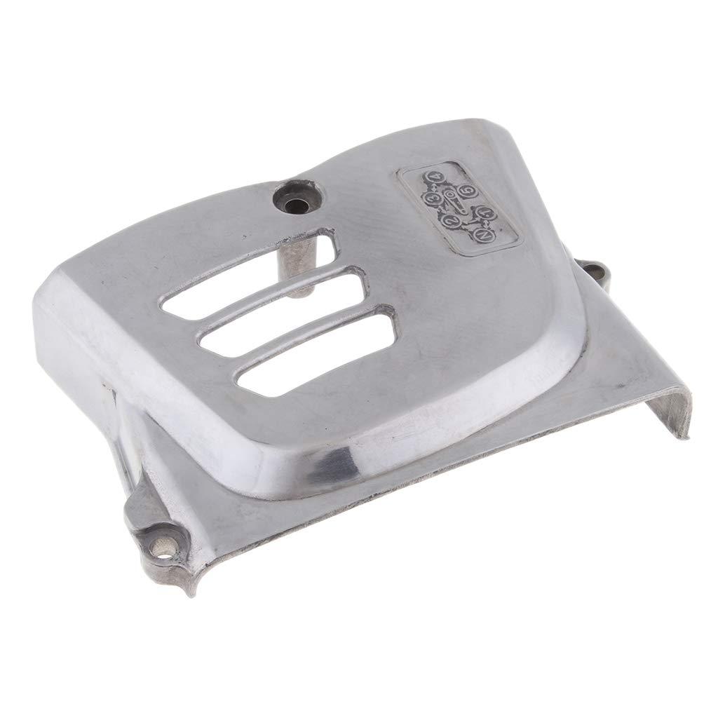 perfk Lado Izquierdo de Cubierta Caja Pi/ñ/ón Motor Izquierdo Para SUZUKI GN250 82-01