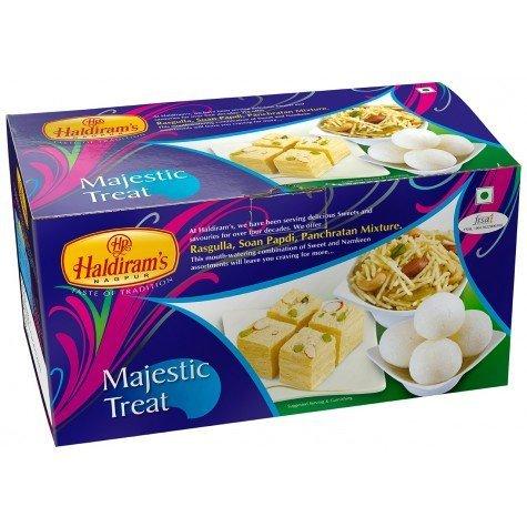 Diwali Treat - Diwali Sweets - Haldirams Majestic Treat Festive Pack, 900gm - Styledivahub® ...