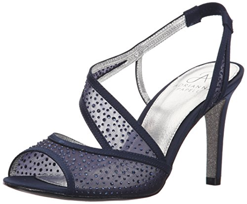Midnight Blue Shoes (Adrianna Papell Women's Andie Dress Sandal, Midnight, 7.5 M US)