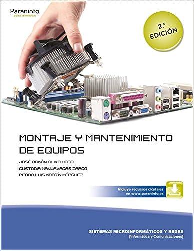 libro montaje y reparación de equipos