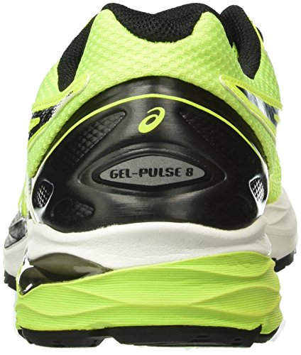 Asics Gel-Pulse 8, Zapatillas de Running para Hombre, UK Giallo (Safety Yellow/Black/Onyx)