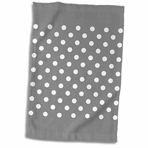 3dRose Janna Salak Designs Prints and Patterns - Grey and
