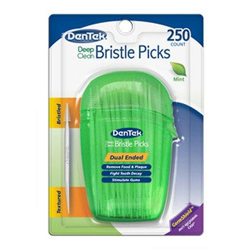 dentek-deep-clean-bristle-picks-fresh-mint-250-ea-pack-of-4