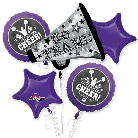 Cheerleader Go Team Go Bouquet Of Balloons -