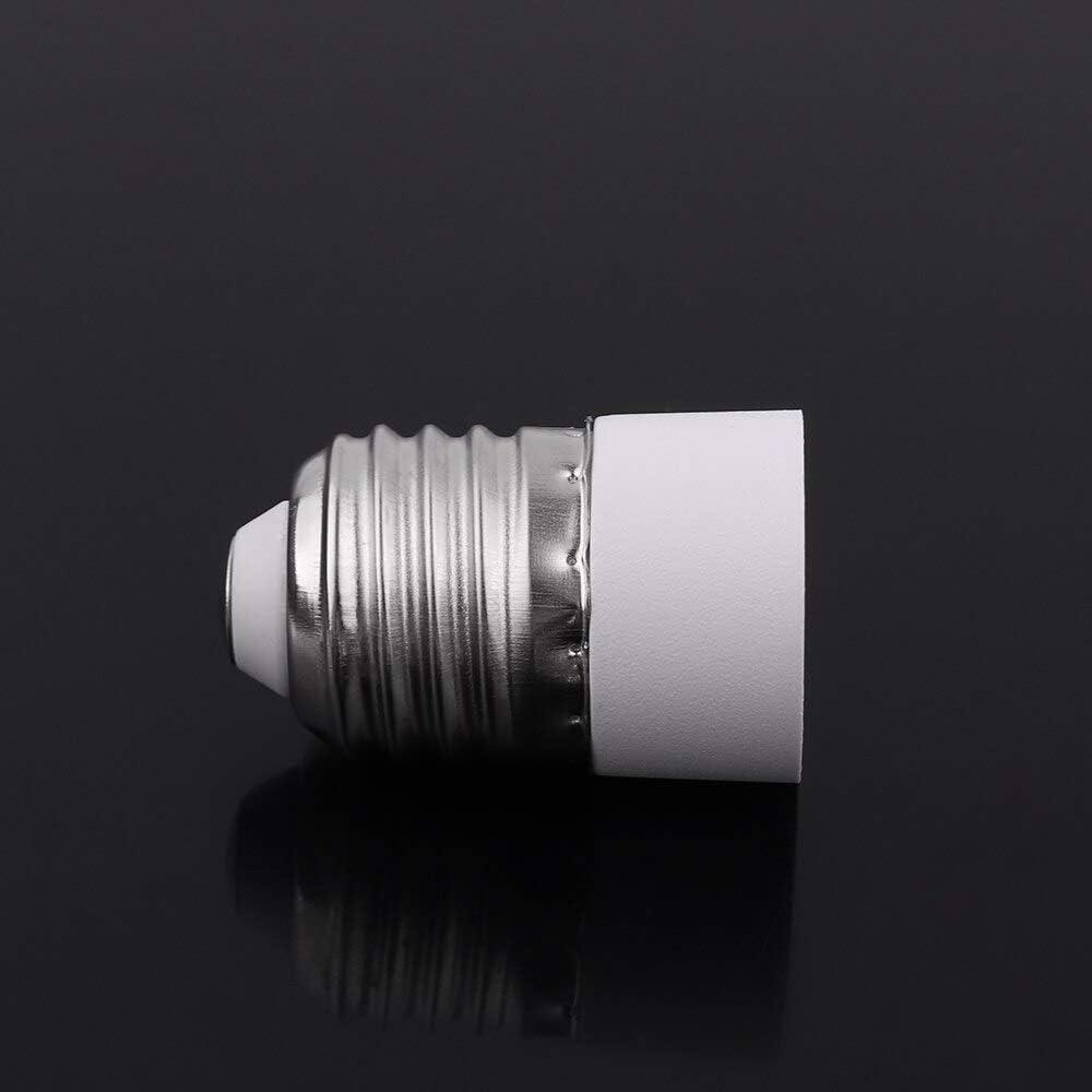 1PC New Hot Sale Portable Home LED Bulb Converter E27 TO E14 Adapter Socket Fireproof Socket Adapter Lamp Holder Light Accessory