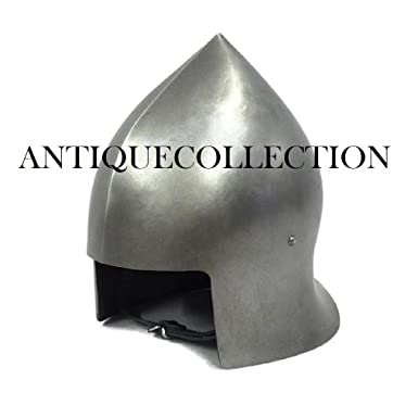 LARP Steel Barbuta Helmet Ideal For Events Metal Armour