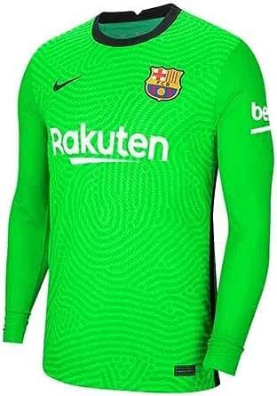 Nike 2020-2021 Barcelona Home Portero Camisa (Verde ...