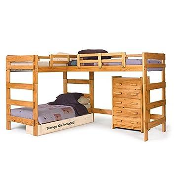 Chelsea Home Furniture 3662008 L Shaped Loft Bed