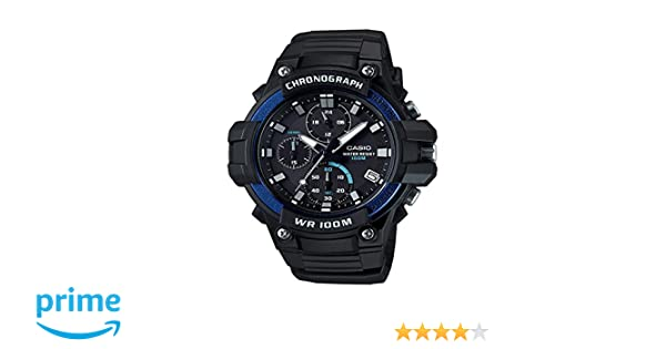 Watch Heavy Display Casio Men's 110h Analog Digital Quartz Duty Black Mcw 2avcf QCxtsBhrd