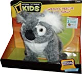 National Geographic For Kids 8 Inch Tall Plush Toy - Wildlife Rescue Baby Koala