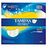 Tampax Pearl Regular Value Pack Applicator Tampons 40 per pack (PACK OF 6)