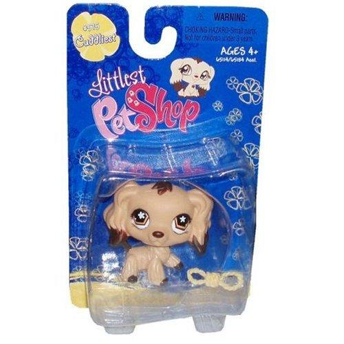 Hasbro Littlest Pet Shop Cuddliest Figure Cocker Spaniel ...