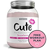 Weight Loss Shakes for Women - Strawberry Protein Based Meal Replacement Powder - Keeps You Healthy and Full - Packed with Nutrients - 3 Delicious Flavors - Great Tasting Diet Control Drinks - 1.1lbs