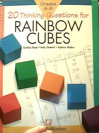 Price comparison product image 20 Thinking Questions for Rainbow Cubes Grades 6-8 (grades 6-8)