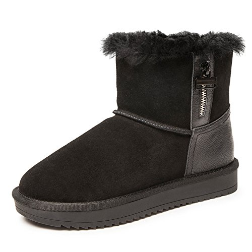 nero studenti autunno Boots Scarpe cotone Donna in caldo Scarpe il Donna inverno 37 donne Calzature stivaletti Stivali Aemember e gli Donna Snow q01fatn0p