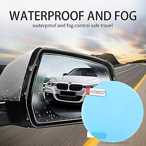 Novasoo Car rearview mirror Rain and anti-fog film 100 * 150 mm Anti-dust and explosion-proof automotive glass decoration 2 PCS