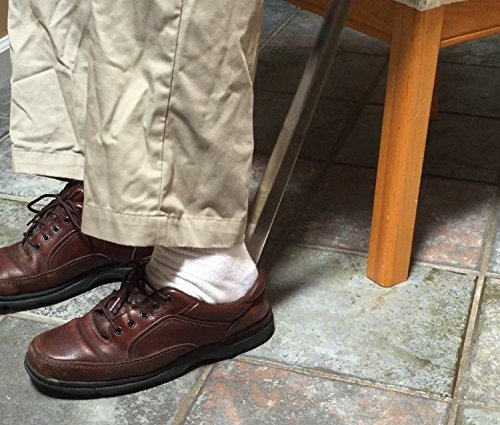 23'' Shoehorn with Long Handle - Reduce Back Strain / Bending Over to Put on Shoes - Extended Shoehorn Makes Life Easier by Easy Slide Shoehorn (Image #4)