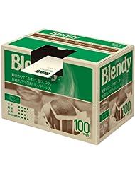 日亚:凑单品:AGF Blendy 特质挂耳咖啡 100包 1980日元(约115元) 日亚畅销,日产口碑咖啡挂耳,约合1.17元/袋。