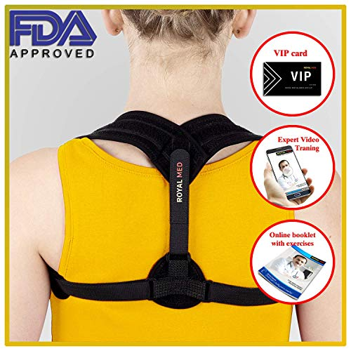 31372d377e Posture Corrector for Women & Men, Effective, Comfortable, Adjustable  Clavicle Support Brace-Improve Bad Posture, Shoulder Alignment, Muscle  Memory, ...