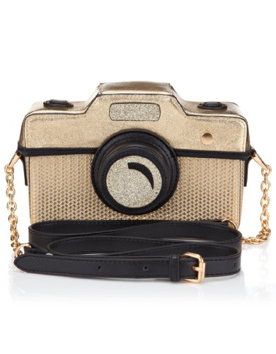 Accessorize Womens Cara Camera Across Body Bag