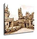 Ashley Canvas Colomares Castle In Benalmadena Town Spain, Wall Art Home Decor, Ready to Hang, Sepia, 16x20, AG6378598
