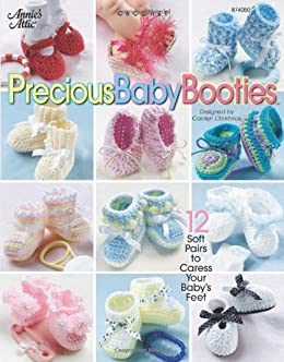 Precious Baby Booties book can be found at Amazon
