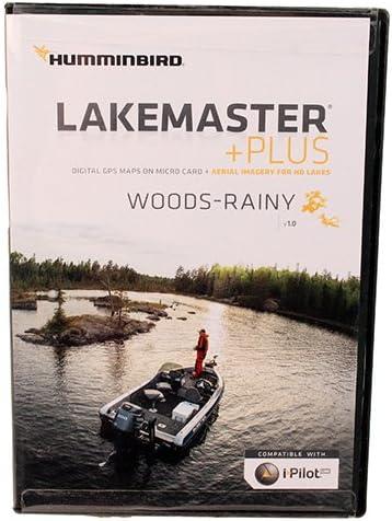 Humminbird 600042-1 SmartStrike Woods-Rainy Map Card
