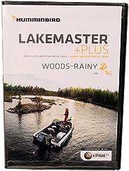 Humminbird LakeMaster Woods-Rainy Edition Digital GPS Lake Maps, Micro SD Card, Version 4