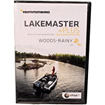 Humminbird Lakemaster Chart Woods//Rainy Microsd//Sd