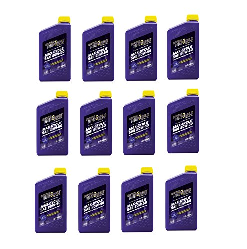Royal Purple 20W50 Max-Cycle Motorcycle & ATV Motor Oil - (Case 12 Bottles) BUY IN A CASE AND SAVE