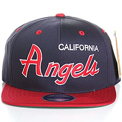 MLB Baseball Teams Flat Bill Script Style Snapback Hat Cap