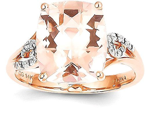 ICE CARATS 14k Rose Gold Diamo