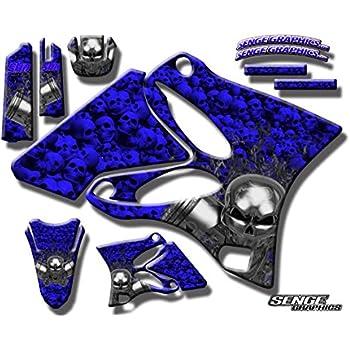 85%OFF Senge Graphics 2000-2008 Yamaha TTR 90, Ricochet Blue