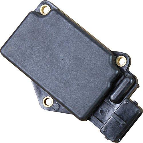(AIP Electronics Premium Mass Air Flow Sensor MAF AFM Compatible Replacement For 1986-1989 Nissan D21 Hardbody Pickup 2.4L 4cyl Oem Fit MF45M14)