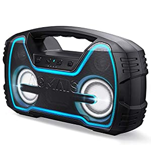Portable-IPX7-Waterproof-Bluetooth-Speakers-Wireless-Home-Party-Speaker-25W-Rich-Bass-Impressive-Sound-Wireless-Stereo-Pairing-Built-in-Mic-100ft-Bluetooth-Range-Durable-for-Indoor-Outdoor