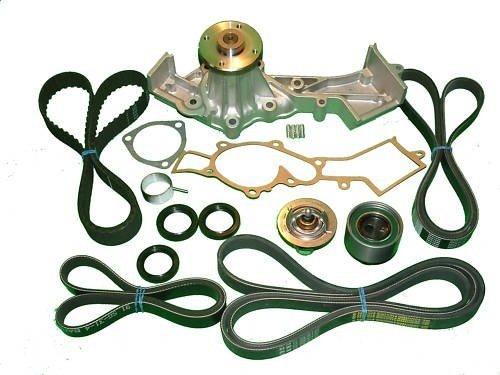 (Timing Belt Kit Nissan Xterra V6 3.3L (2000 2001 2002 2003 2004) Nissan Frontier V6 (1999-2004) Water Pump Tensioner Gaskets and Belts)