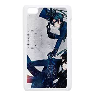 iPod Touch 4 Cell Phone Case White Black Butler HG7637272