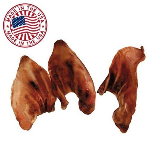 natural pig ears for dogs 10 pack bulk pork dog dental import it all. Black Bedroom Furniture Sets. Home Design Ideas
